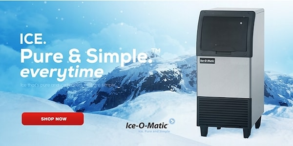 Ice-O-Matic Undercounter Ice Machines